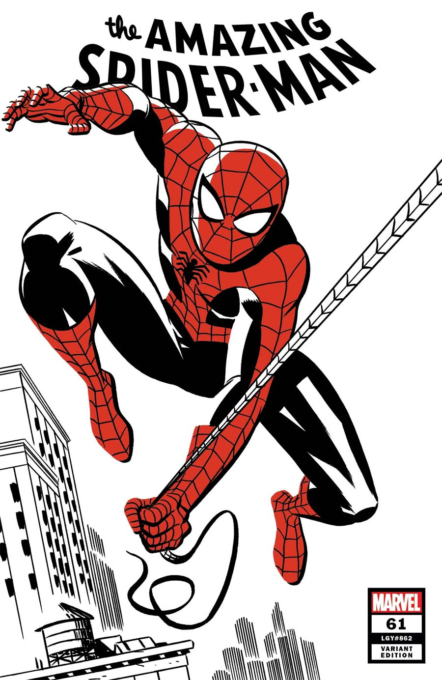 Amazing Spider-Man Vol 5 #61 Cover B Variant Michael Cho Spider-Man Two-Tone Cover