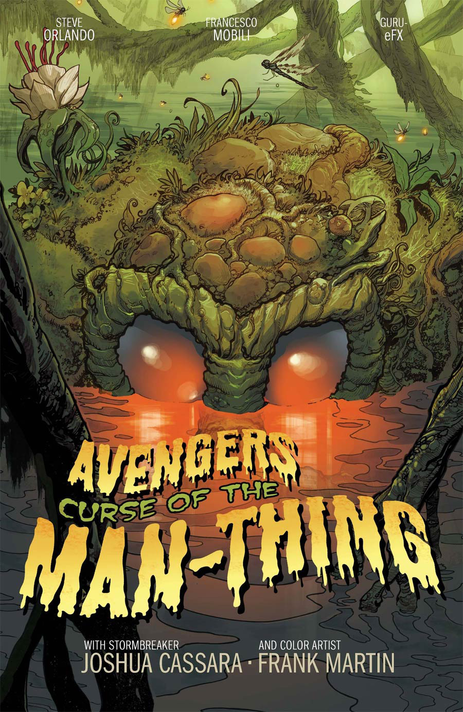 Avengers Curse Of The Man-Thing #1 (One Shot) Cover B Variant Joshua Cassara Stormbreakers Cover