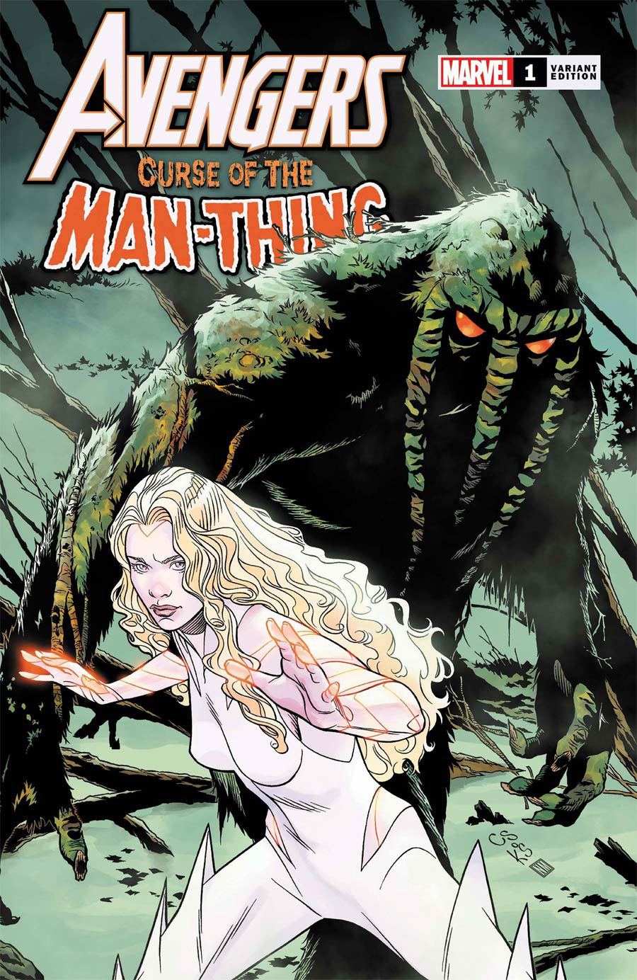 Avengers Curse Of The Man-Thing #1 (One Shot) Cover C Variant Chris Sprouse Cover
