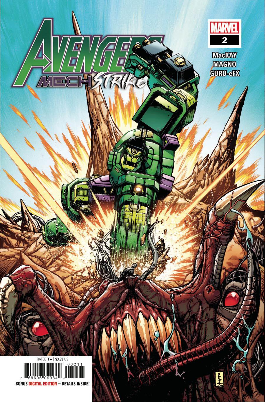 Avengers Mech Strike #2 Cover A Regular Kei Zama Cover