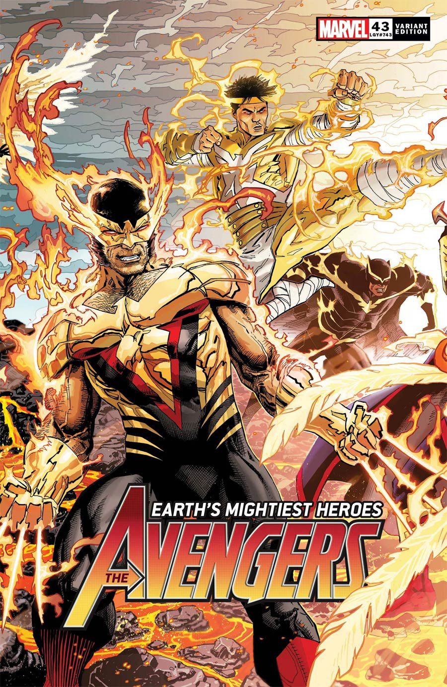 Avengers Vol 7 #43 Cover D Variant Dustin Weaver Connecting Cover