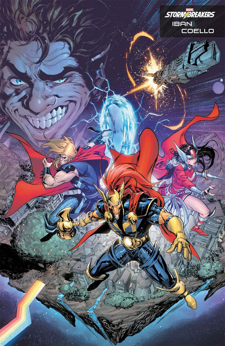 Beta Ray Bill #1 Cover B Variant Iban Coello Stormbreakers Cover (King In Black Tie-In)