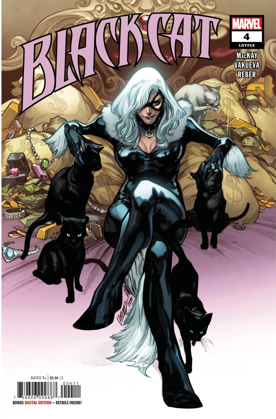 Black Cat Vol 2 #4 Cover A Regular Pepe Larraz Cover