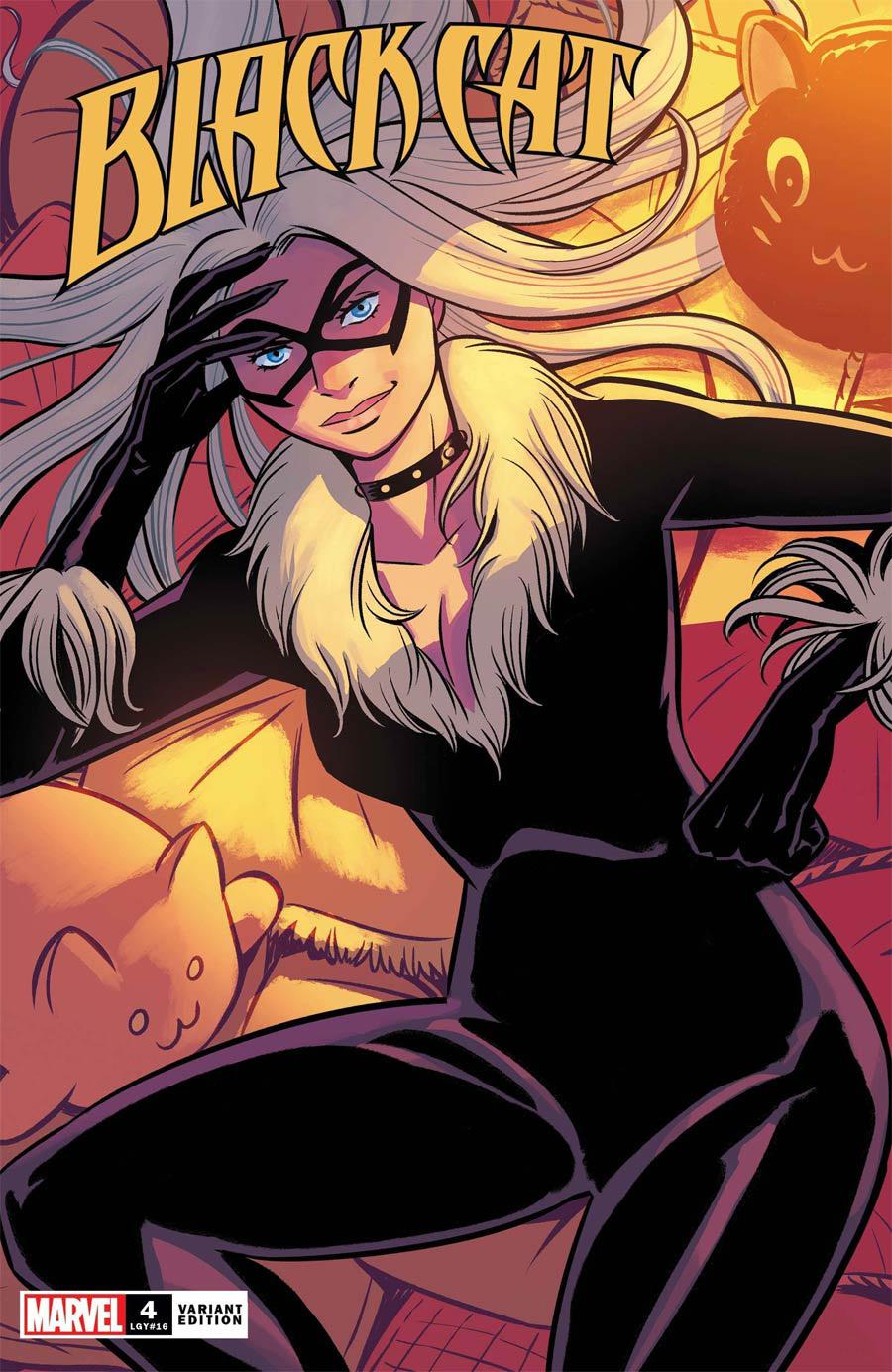 Black Cat Vol 2 #4 Cover C Variant Natacha Bustos Cover