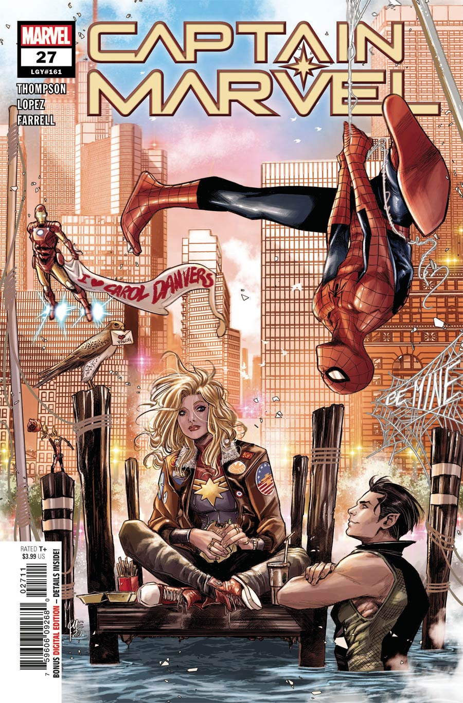 Captain Marvel Vol 9 #27 Cover A Regular Marco Checchetto Cover