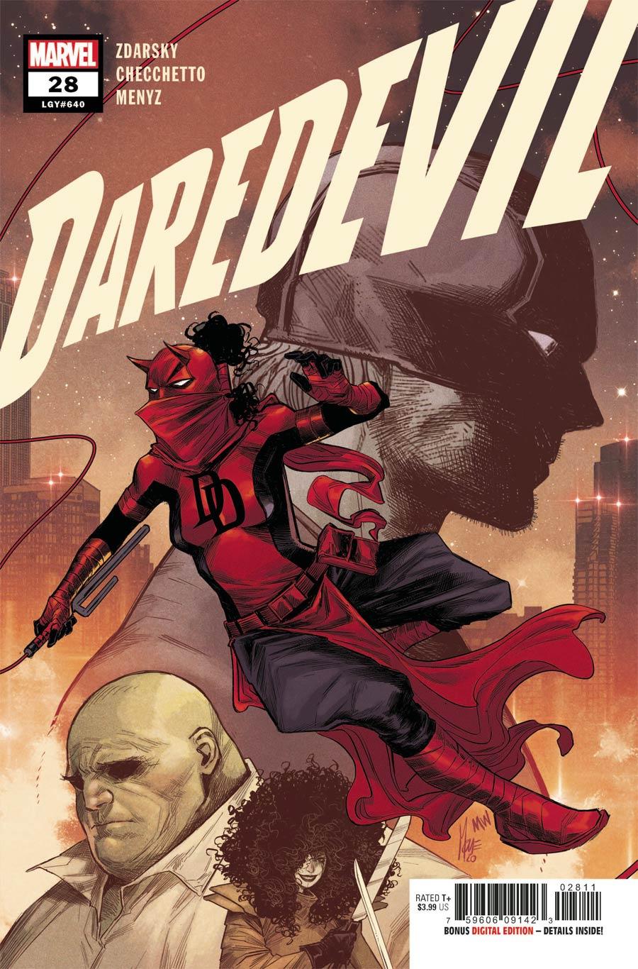 Daredevil Vol 6 #28 Cover A Regular Marco Checchetto Cover