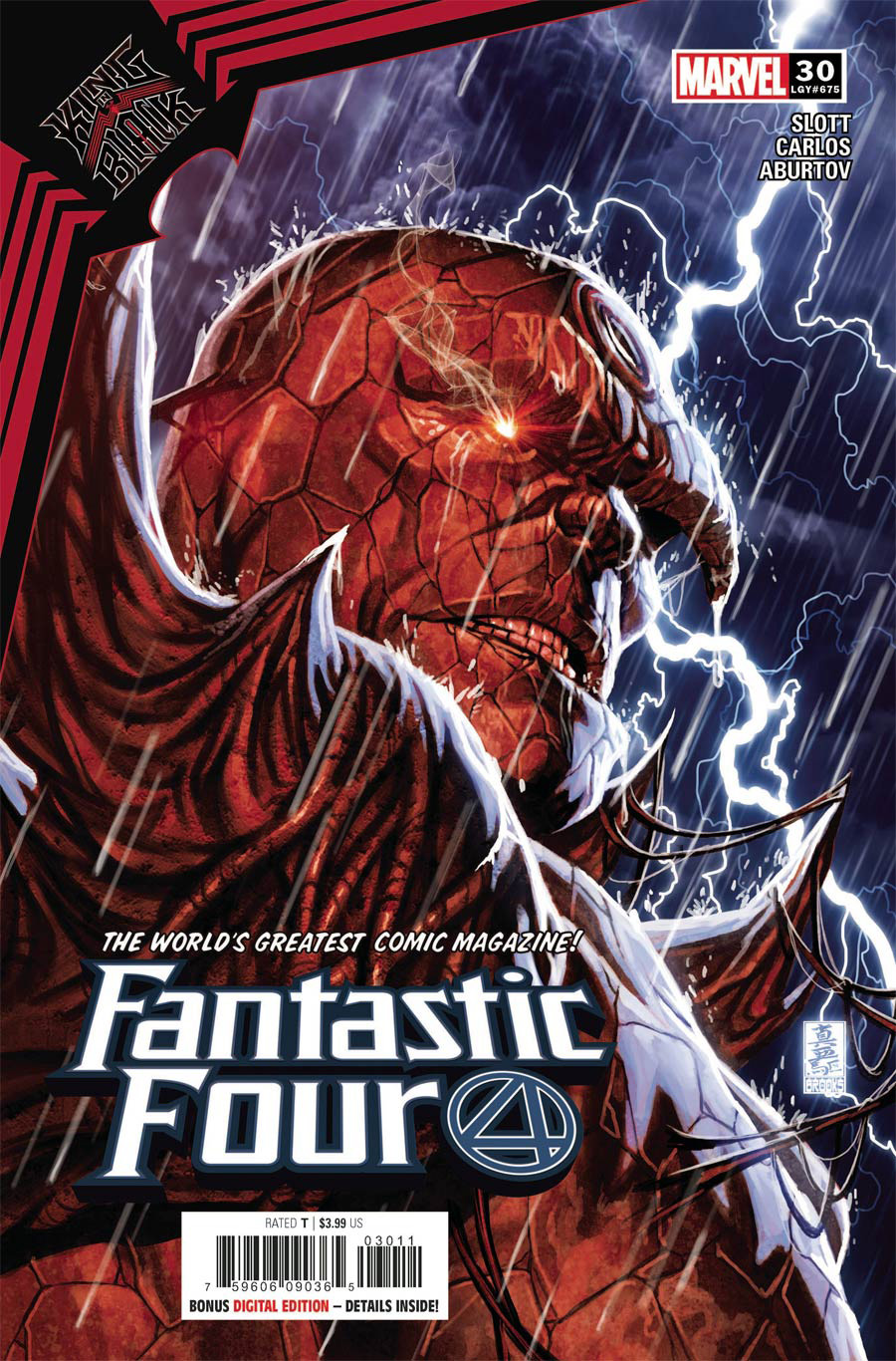 Fantastic Four Vol 6 #30 Cover A Regular Mark Brooks Cover (King In Black Tie-In)