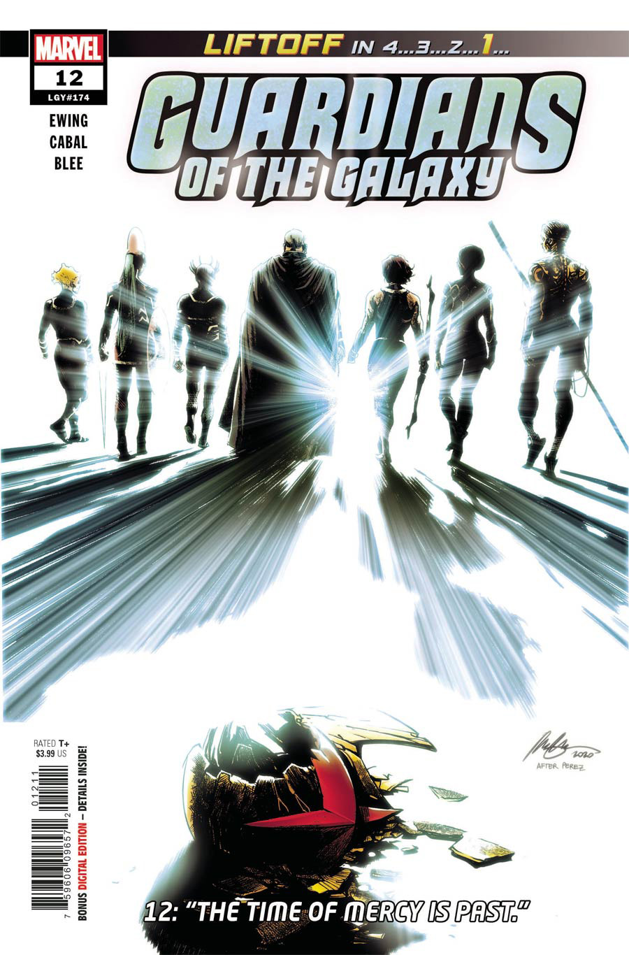 Guardians Of The Galaxy Vol 6 #12 Cover A Regular Rafael Albuquerque Cover