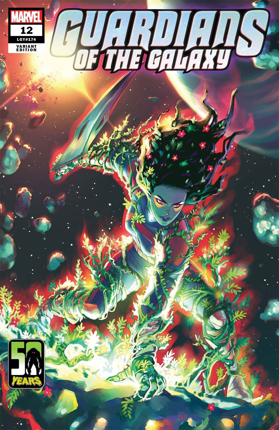Guardians Of The Galaxy Vol 6 #12 Cover B Variant Meghan Hetrick Gamora-Thing Cover