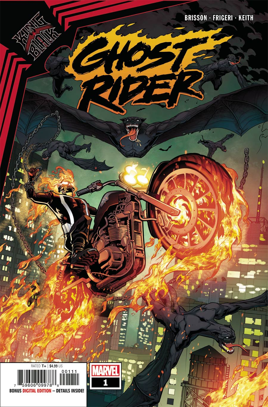 King In Black Ghost Rider #1 (One Shot) Cover A Regular Will Sliney Cover