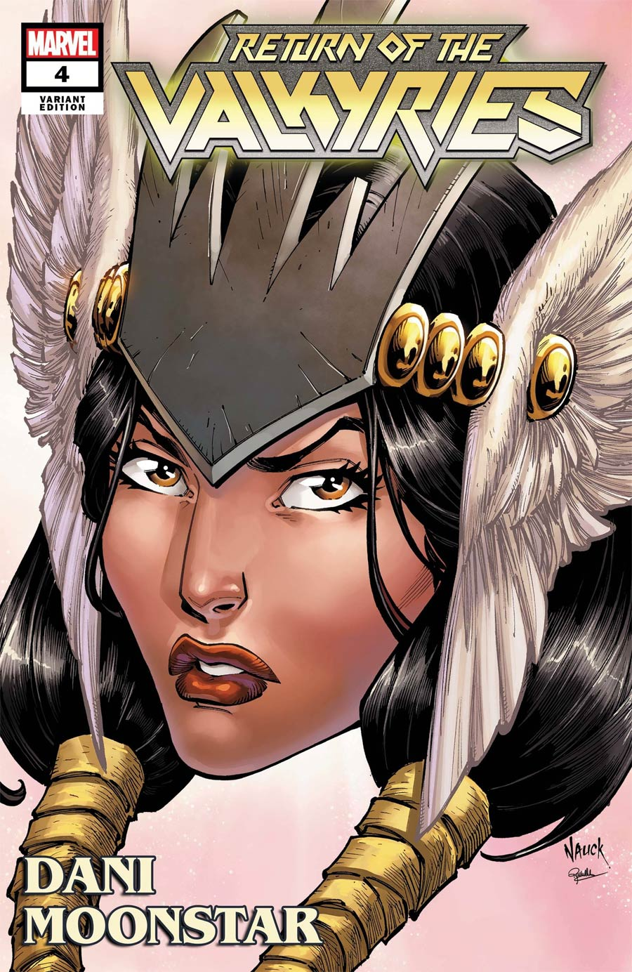King In Black Return Of The Valkyries #4 Cover C Variant Todd Nauck Headshot Cover