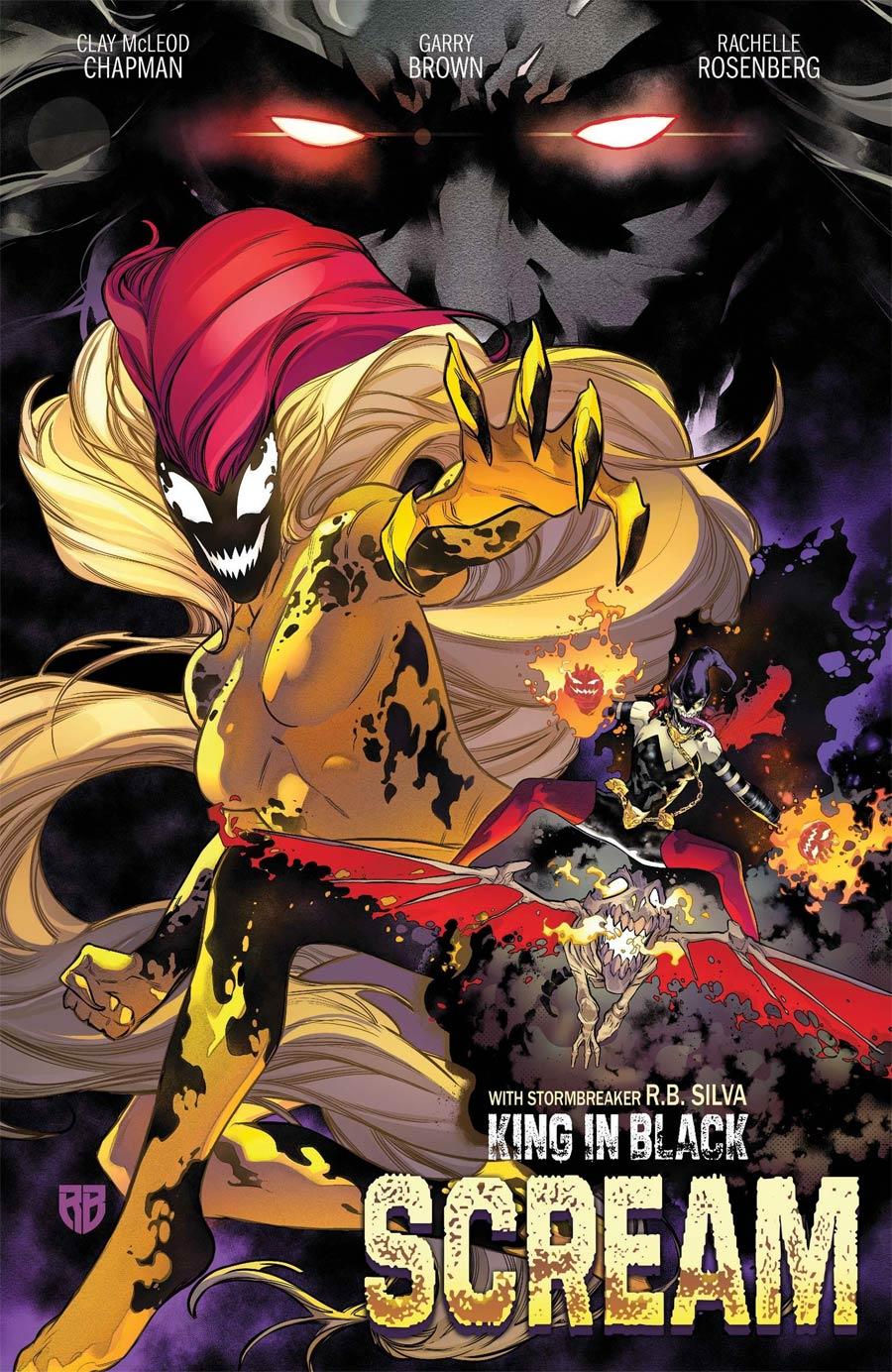 King In Black Scream #1 (One Shot) Cover B Variant RB Silva Stormbreakers Cover