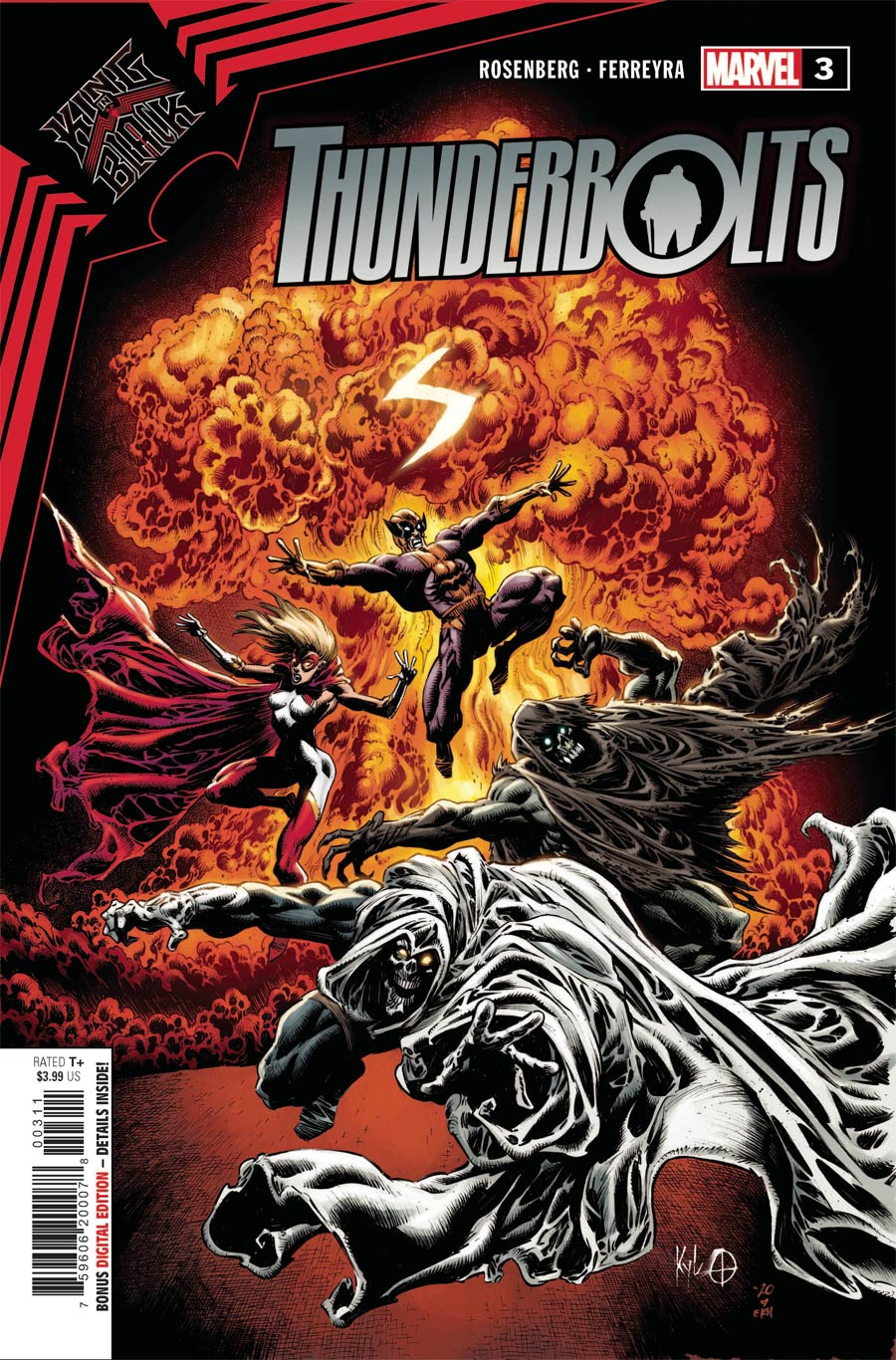 King In Black Thunderbolts #3 Cover A Regular Kyle Hotz Cover