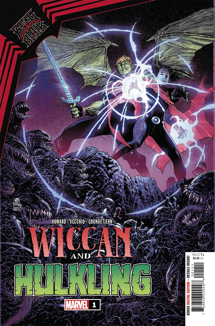 King In Black Wiccan And Hulkling #1 (One Shot) Cover A Regular Jim Cheung Cover
