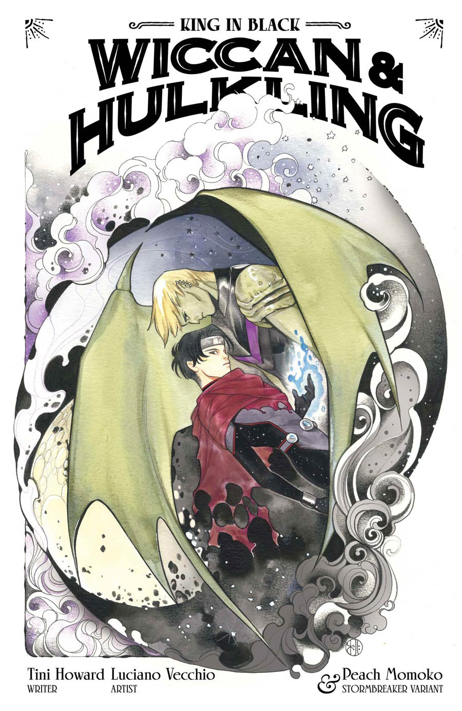 King In Black Wiccan And Hulkling #1 (One Shot) Cover B Variant Peach Momoko Stormbreakers Cover