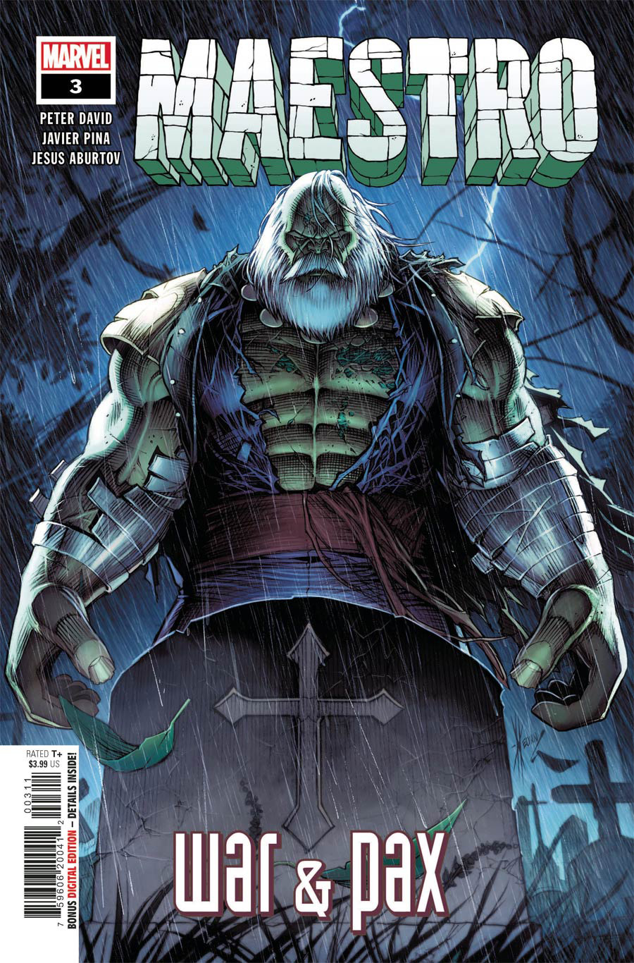 Maestro War And Pax #3 Cover A Regular Dale Keown Cover