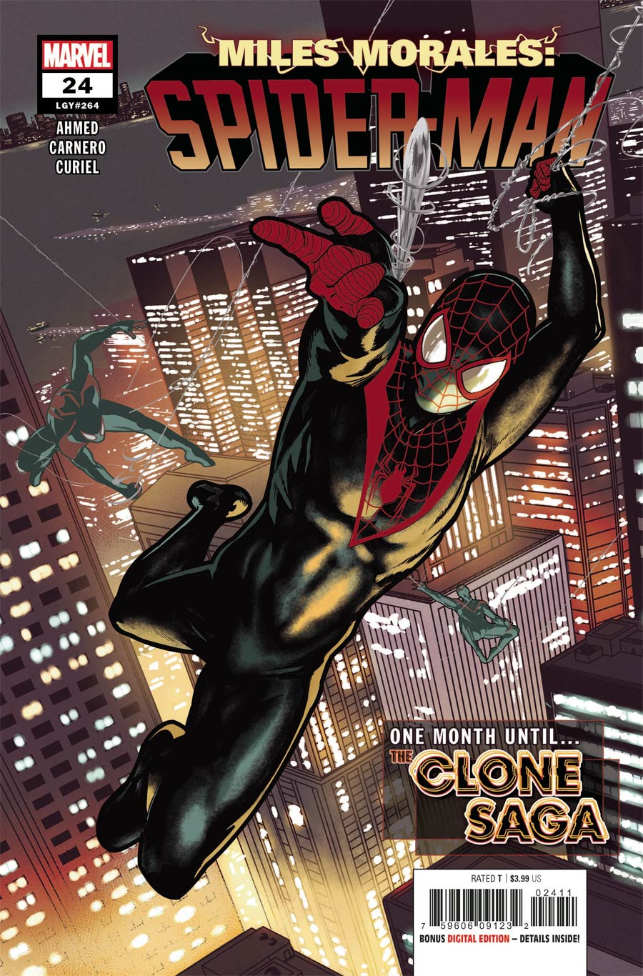 Miles Morales Spider-Man #24 Cover A Regular Taurin Clarke Cover