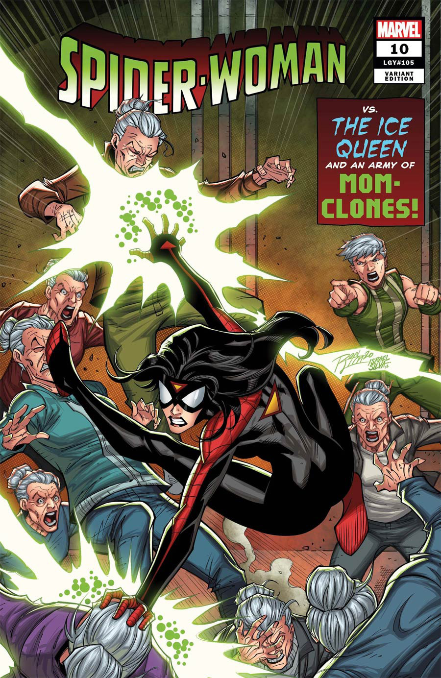 Spider-Woman Vol 7 #10 Cover D Variant Ron Lim Cover