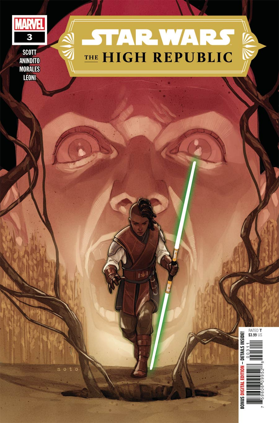 Star Wars High Republic #3 Cover A Regular Phil Noto Cover