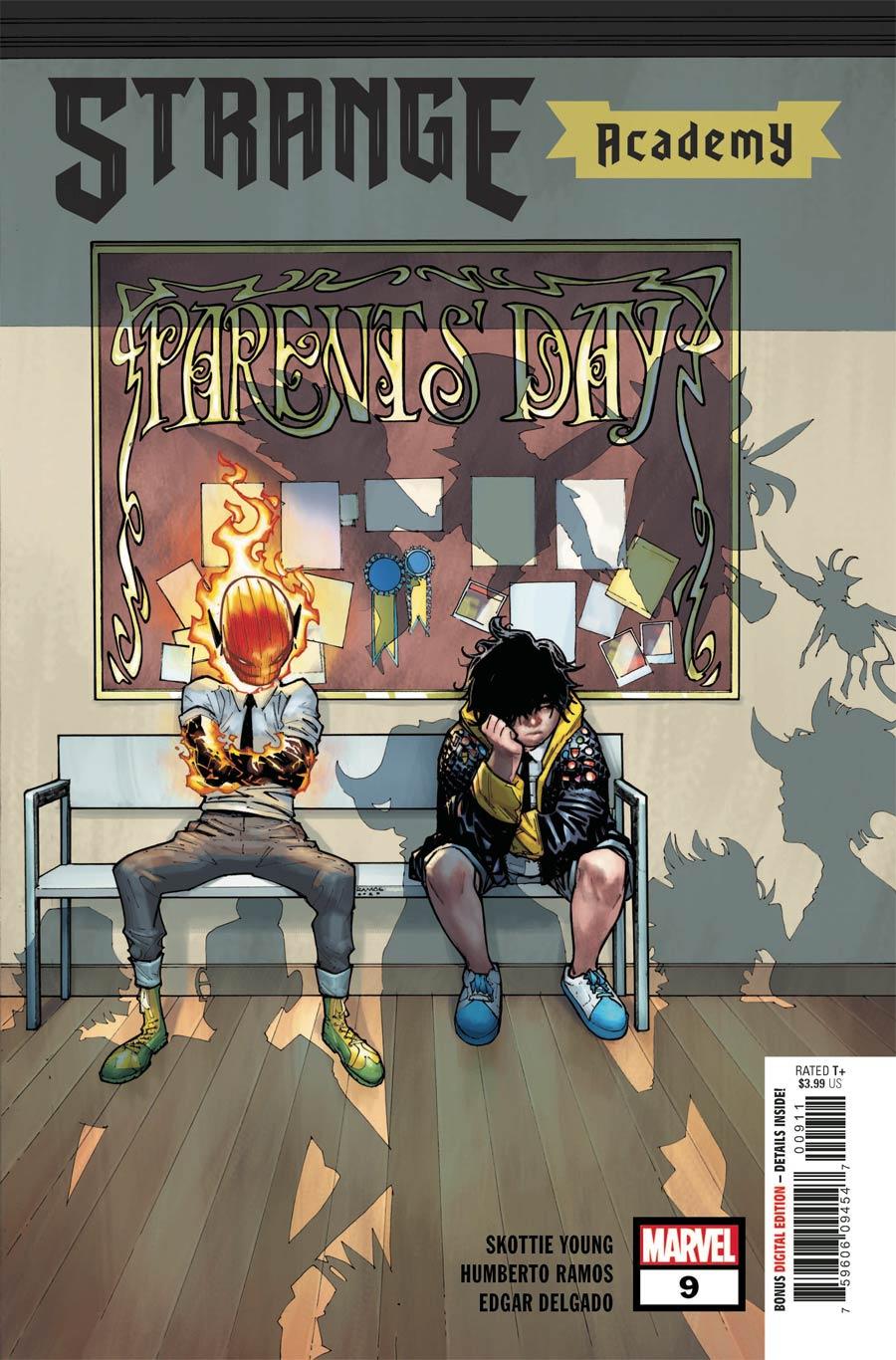Strange Academy #9 Cover A Regular Humberto Ramos Cover