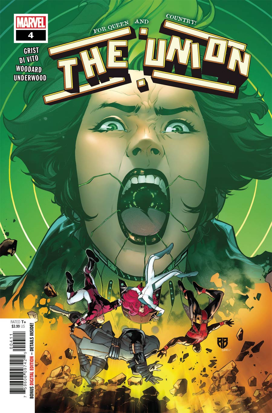 The Union #4 Cover A Regular RB Silva Cover