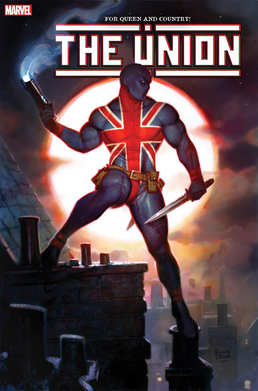 The Union #4 Cover B Variant Ryan Brown Cover