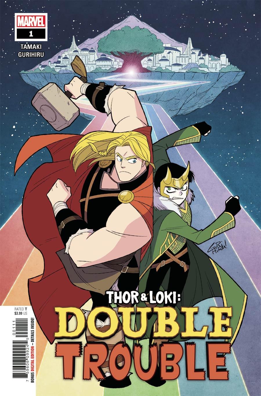 Thor & Loki Double Trouble #1 Cover A Regular Gurihiru Cover