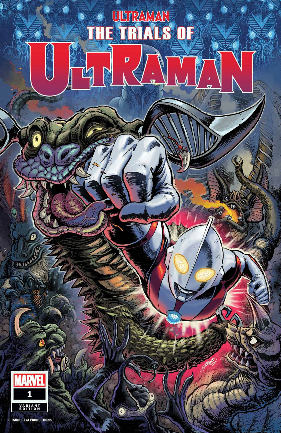 Ultraman Trials Of Ultraman #1 Cover E Variant Matthew Frank Cover
