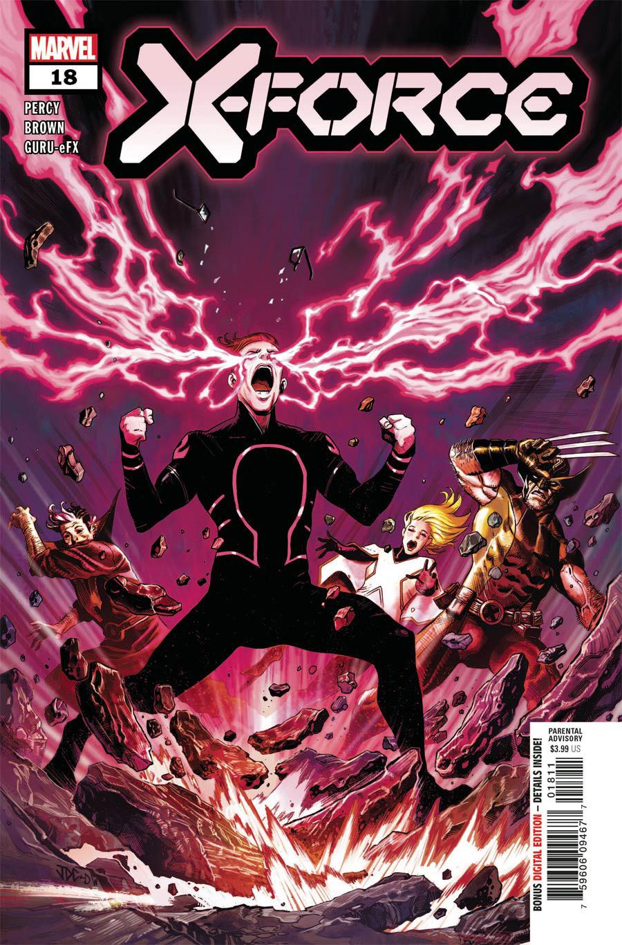 X-Force Vol 6 #18 Cover A Regular Joshua Cassara Cover