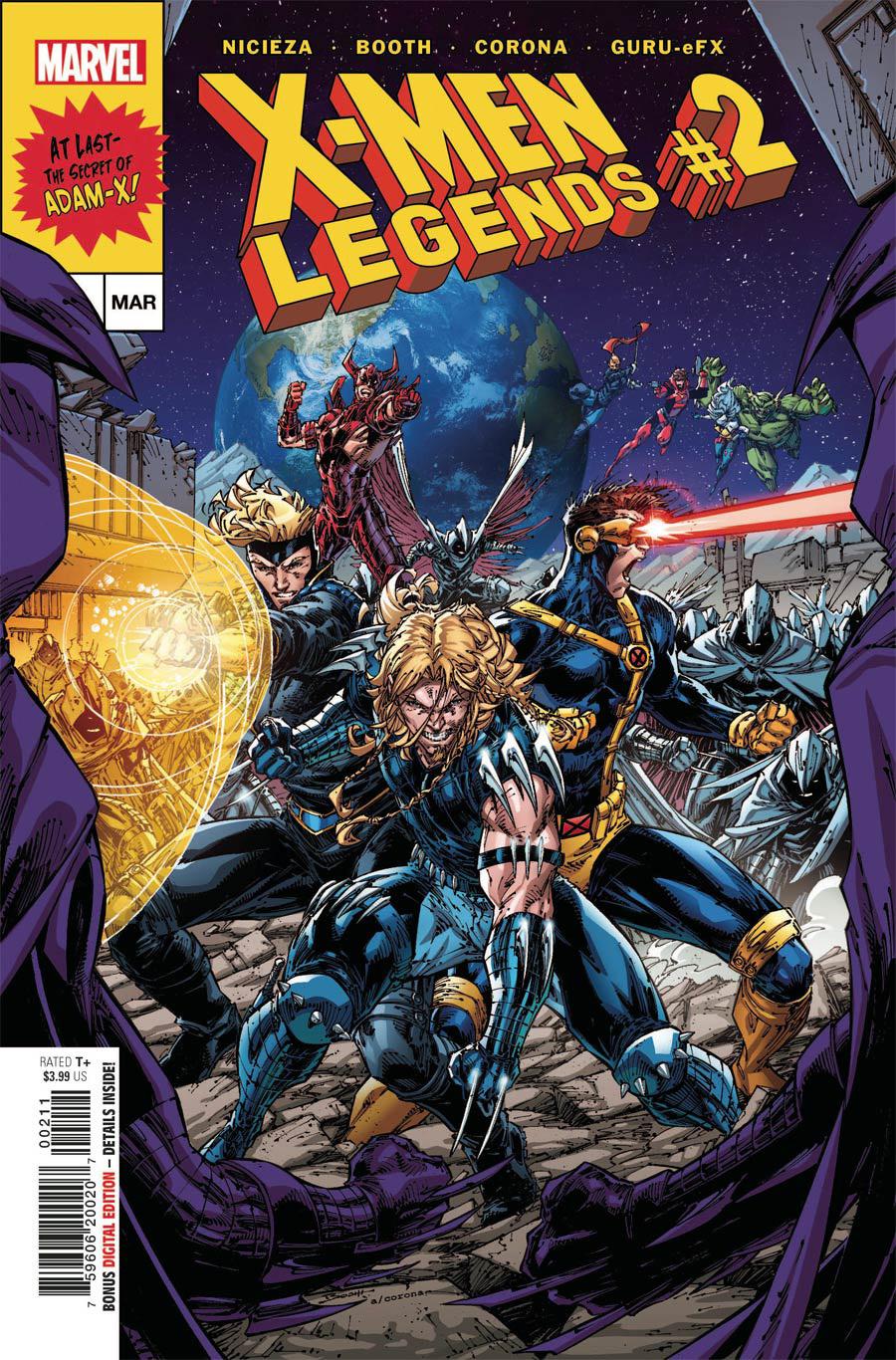 X-Men Legends #2 Cover A Regular Brett Booth Cover