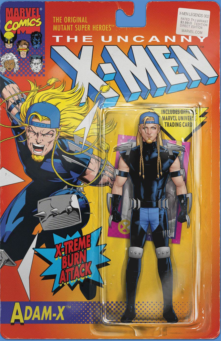 X-Men Legends #2 Cover B Variant John Tyler Christopher Action Figure Cover