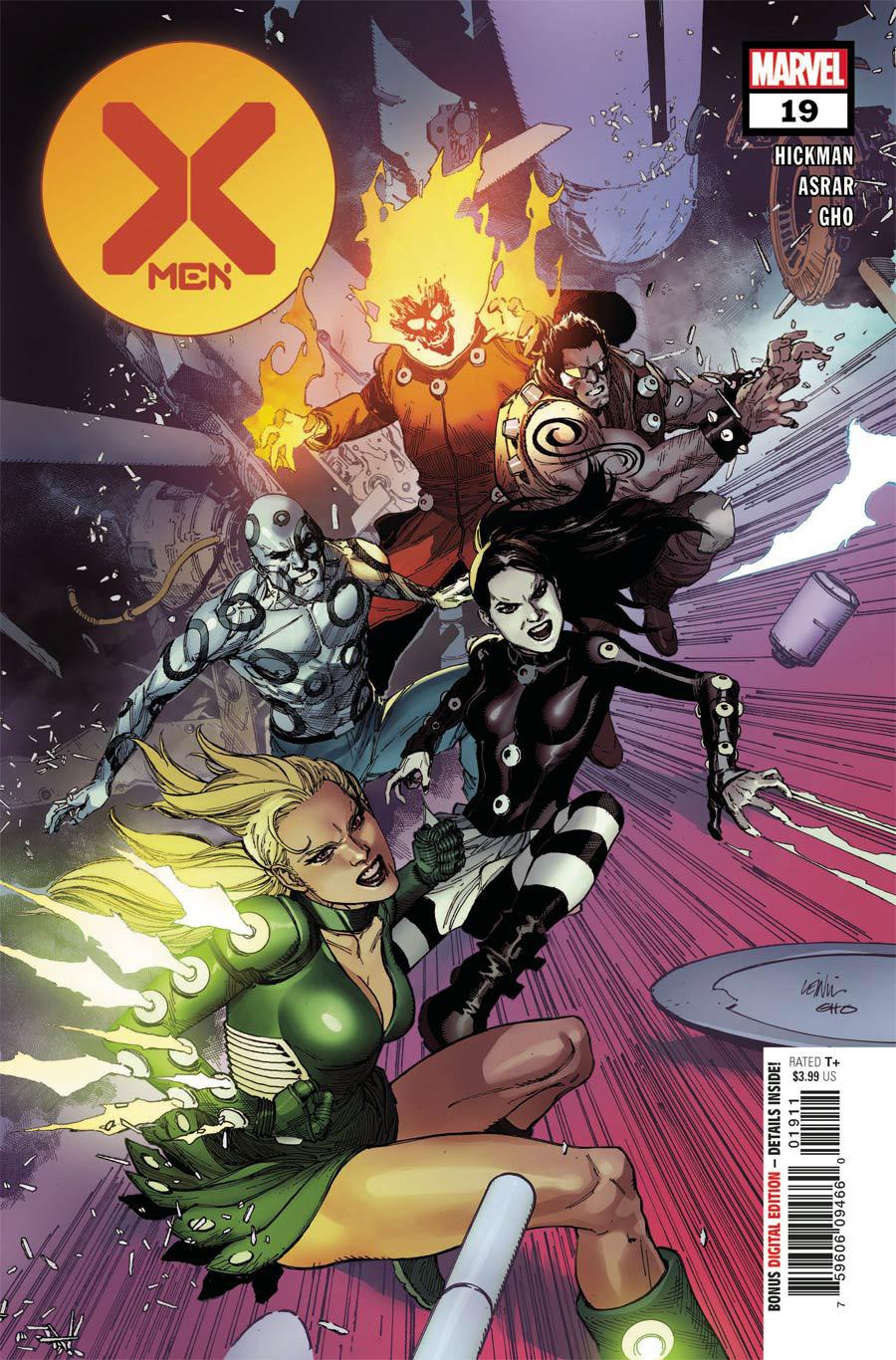 X-Men Vol 5 #19 Cover A Regular Leinil Francis Yu Cover