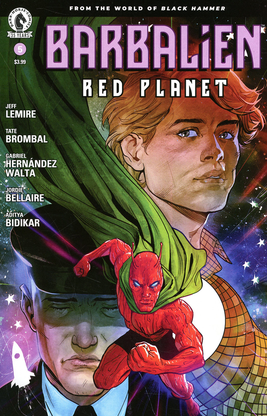 Barbalien Red Planet #5 Cover B Variant Nick Robles Cover