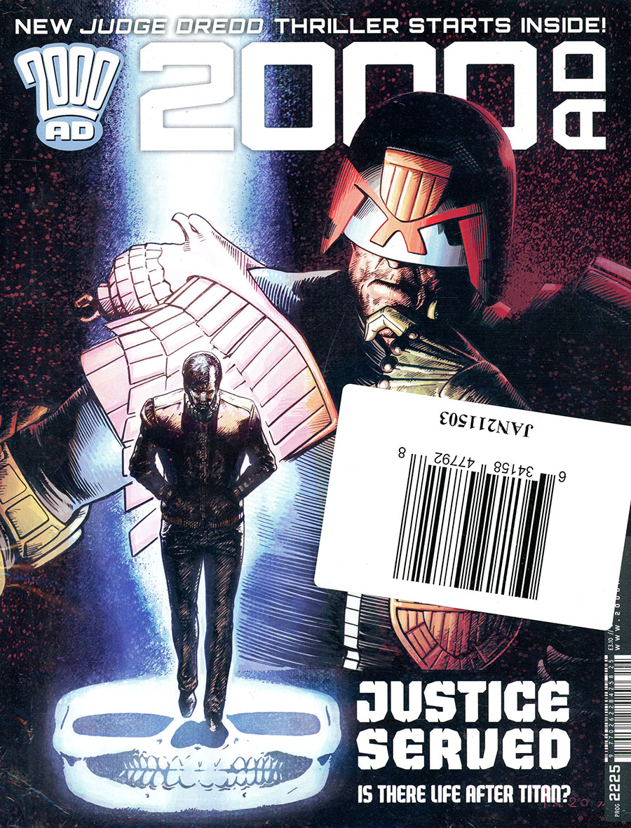2000 AD Pack March 2021