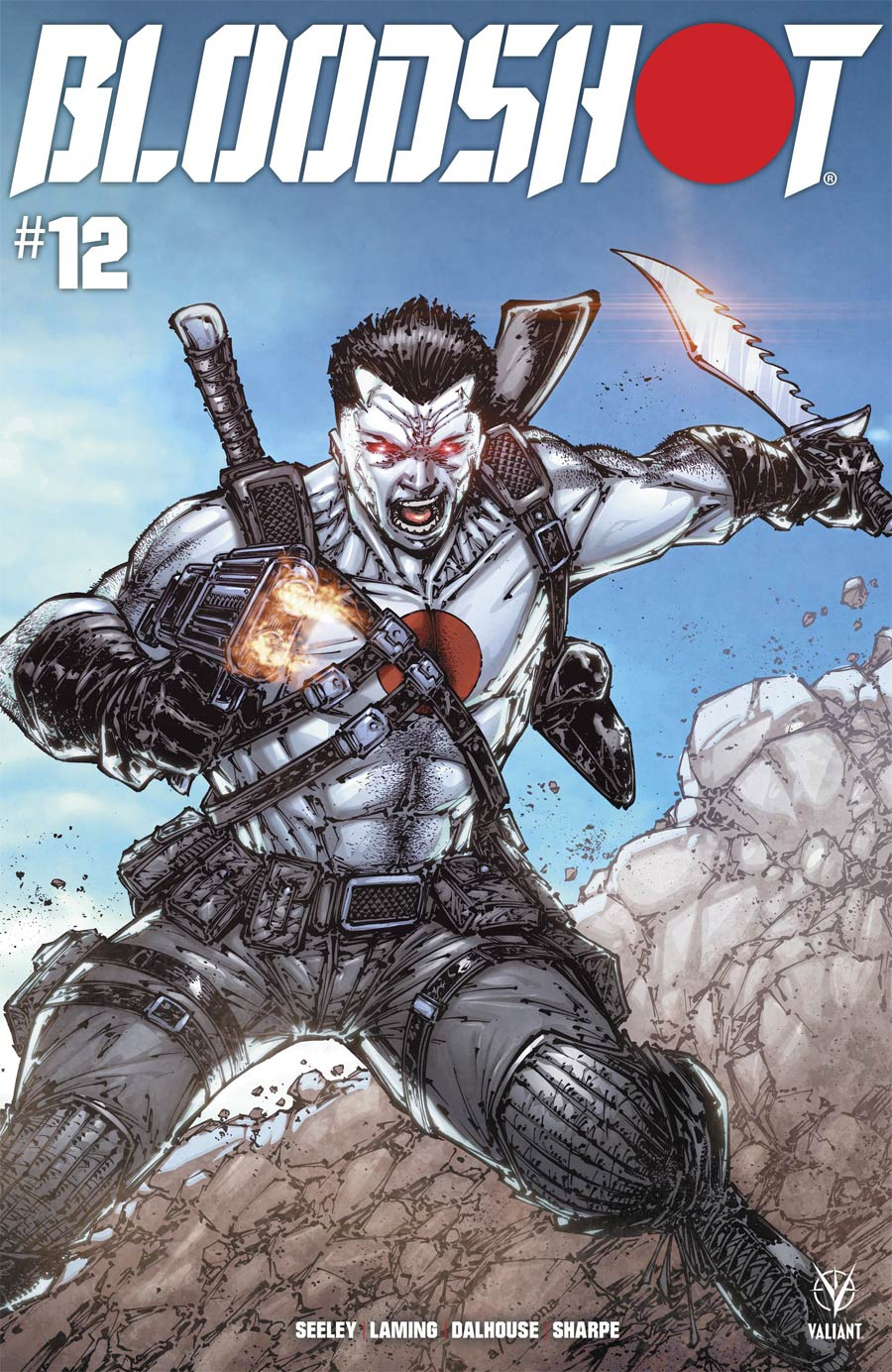 Bloodshot Vol 4 #12 Cover A Regular Adelso Corona Cover