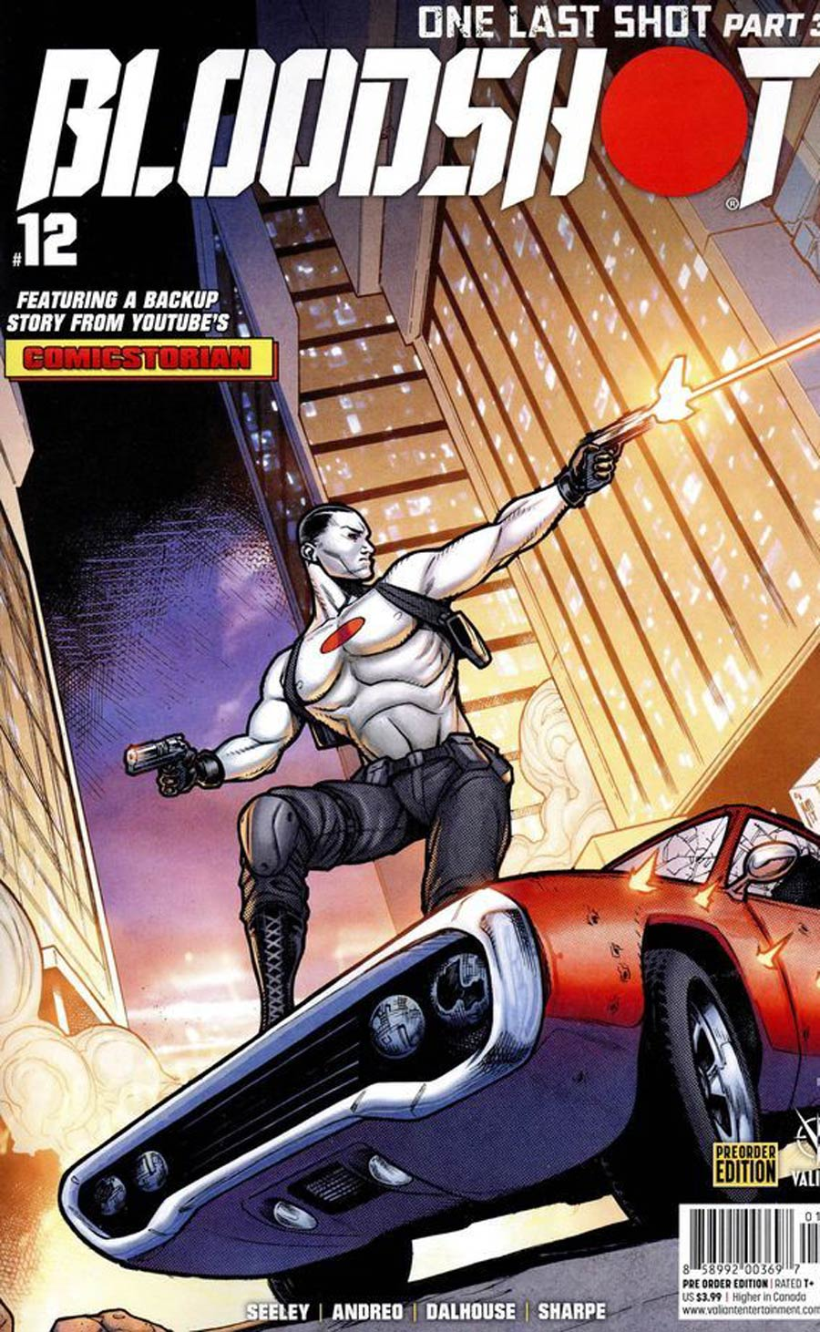 Bloodshot Vol 4 #12 Cover C Variant Jim Towe Pre-Order Edition