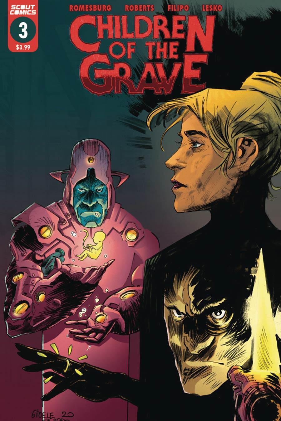 Children Of The Grave (Scout Comics) #3