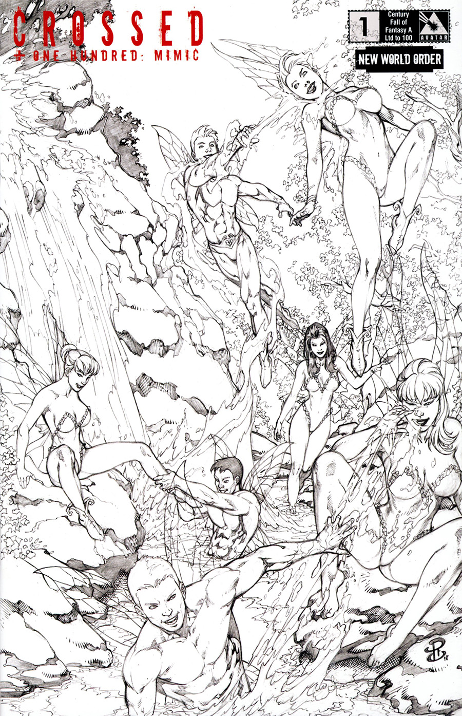 Crossed Plus 100 Mimic #1 Cover M NWO Century Fall Of Fantasy A Cover