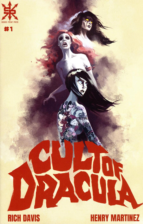 Cult Of Dracula #1 Cover A Regular Gyula Nemeth Cover