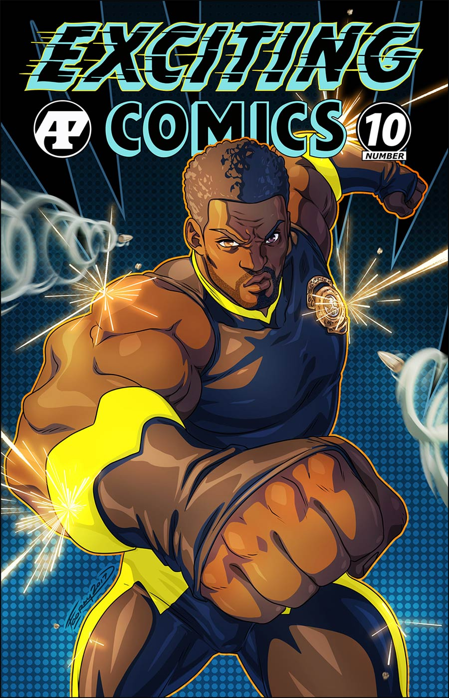 Exciting Comics Vol 2 #10