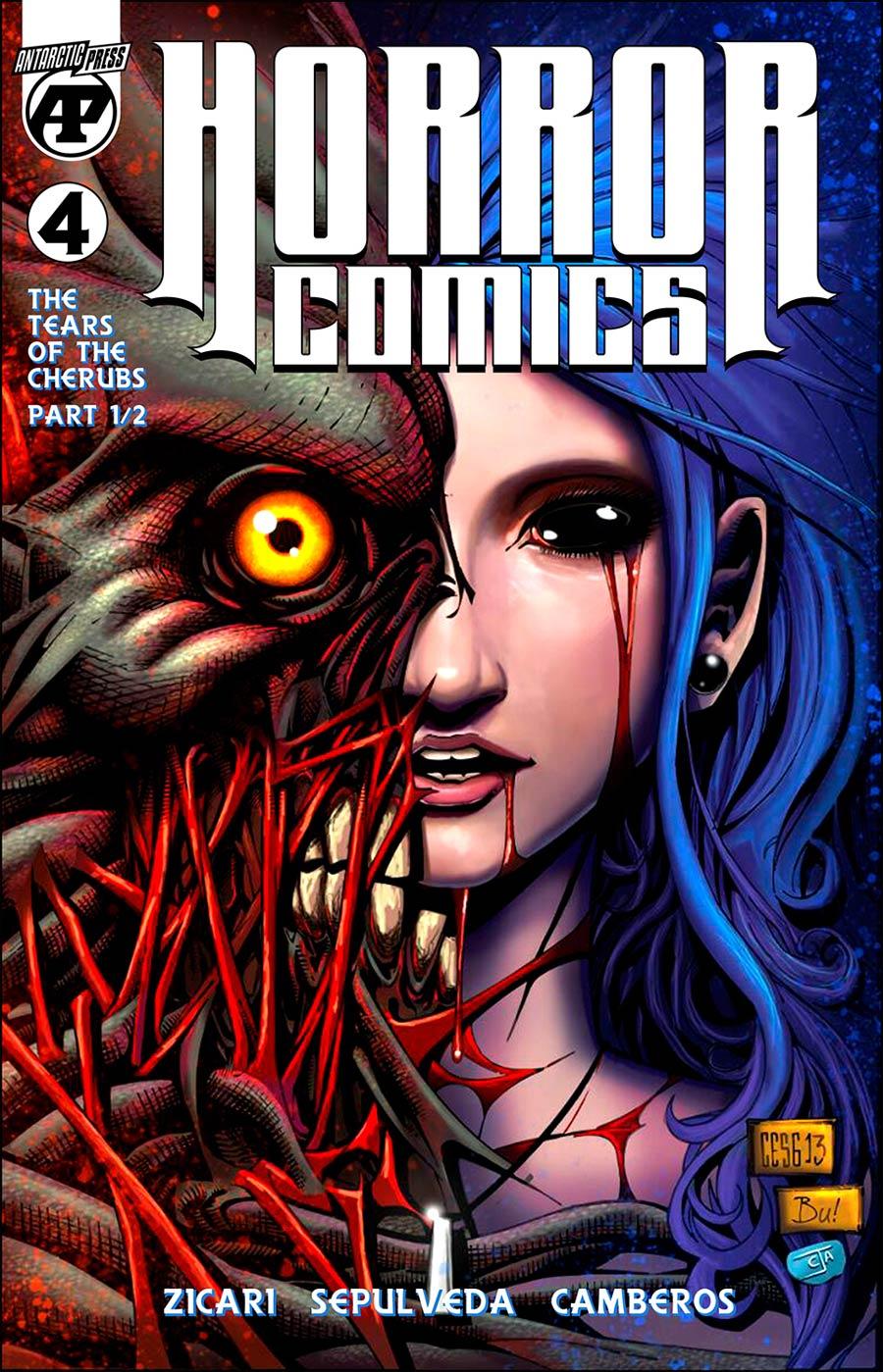 Horror Comics Black And White #4