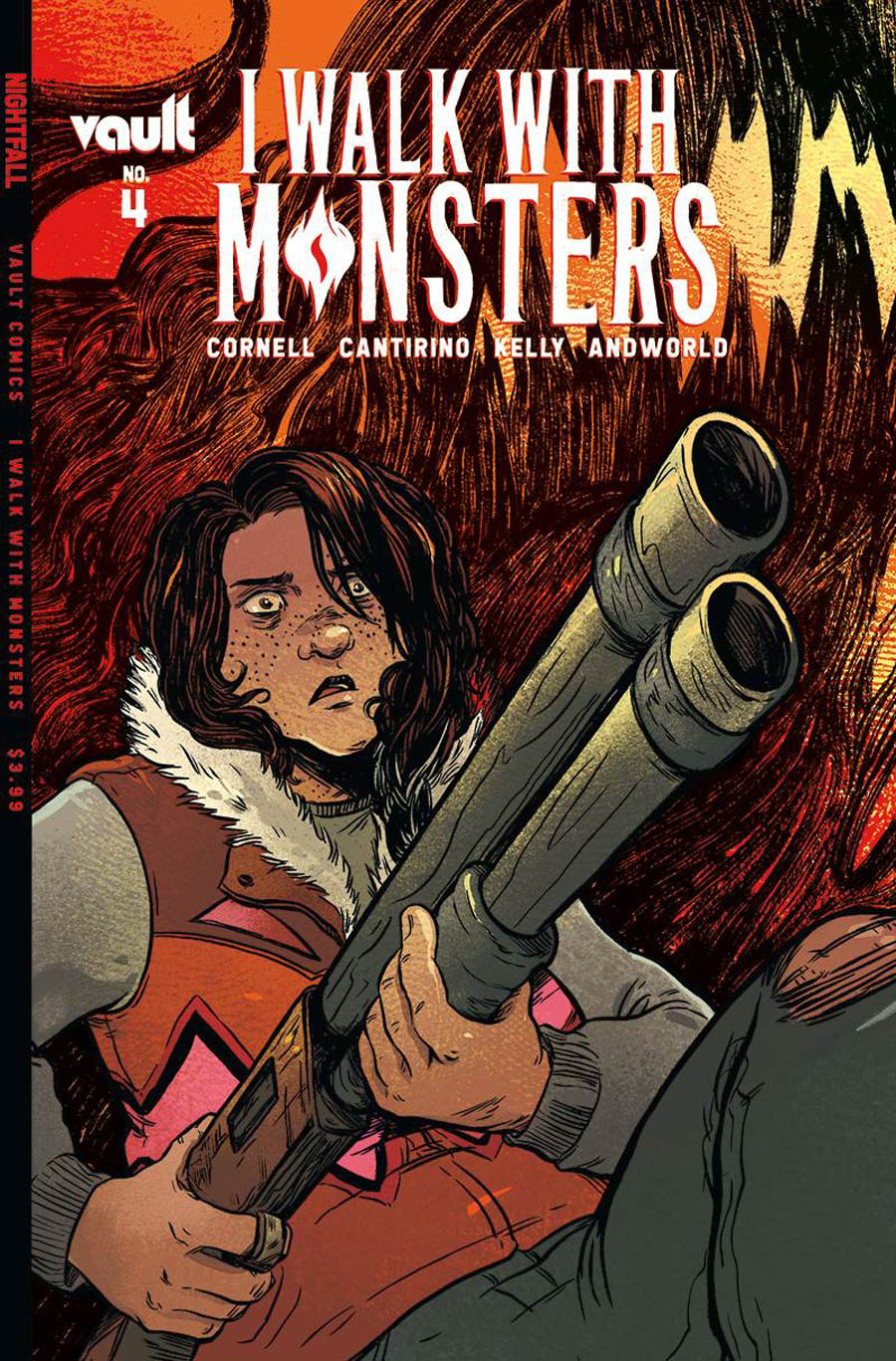 I Walk With Monsters #4 Cover A Regular Sally Cantirino Cover