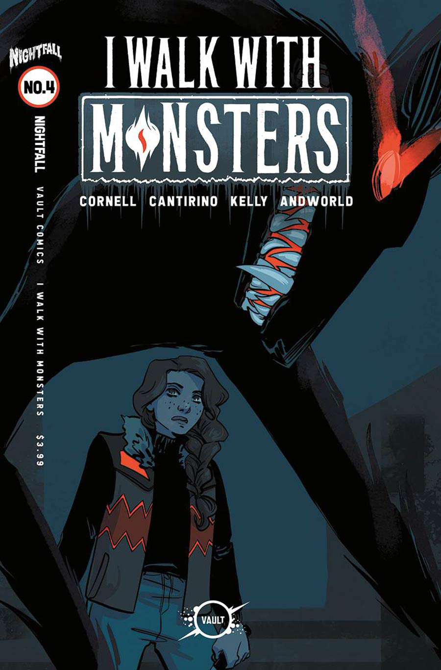 I Walk With Monsters #4 Cover B Variant Jen Hickman Cover