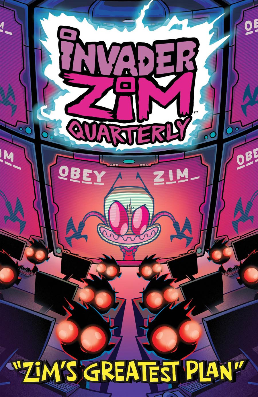 Invader Zim Quarterly #4 Zims Greatest Plan Cover A Regular Fred C Stresing Cover