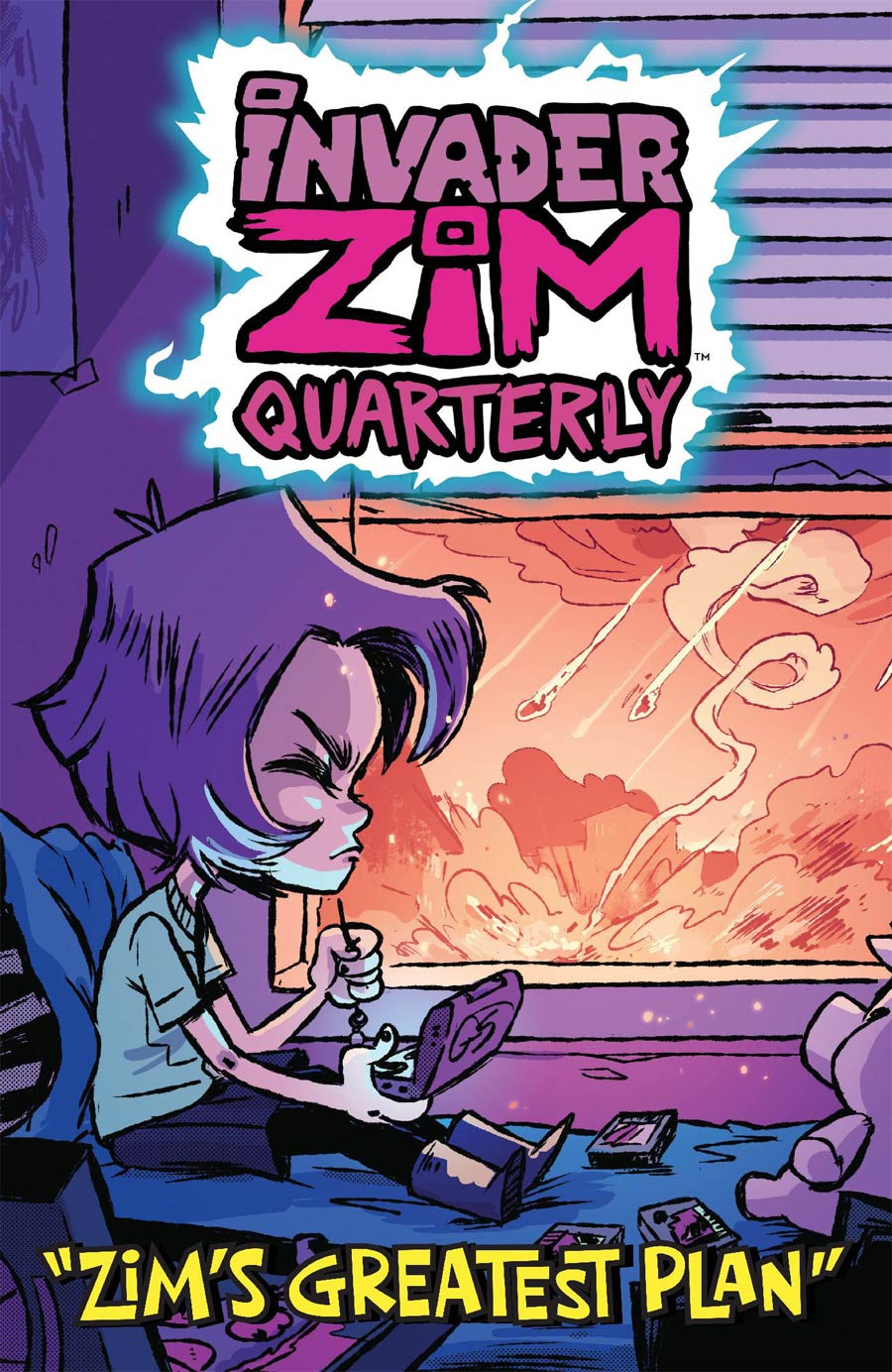 Invader Zim Quarterly #4 Zims Greatest Plan Cover B Variant CAB Cover