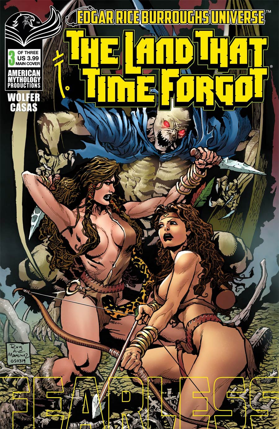 Land That Time Forgot Fearless #3 Cover A Regular Roy Allan Martinez Cover