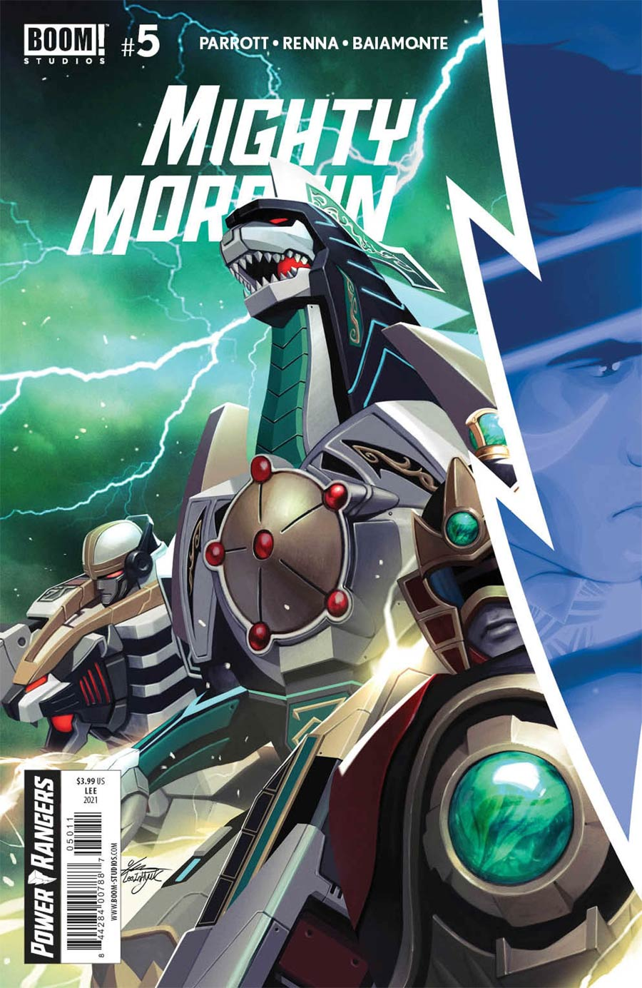 Mighty Morphin #5 Cover A Regular Inhyuk Lee Cover