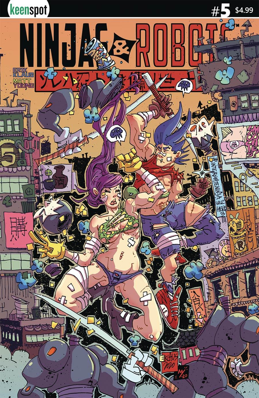 Ninjas And Robots #5 Cover A Regular Erik Klaus Cover