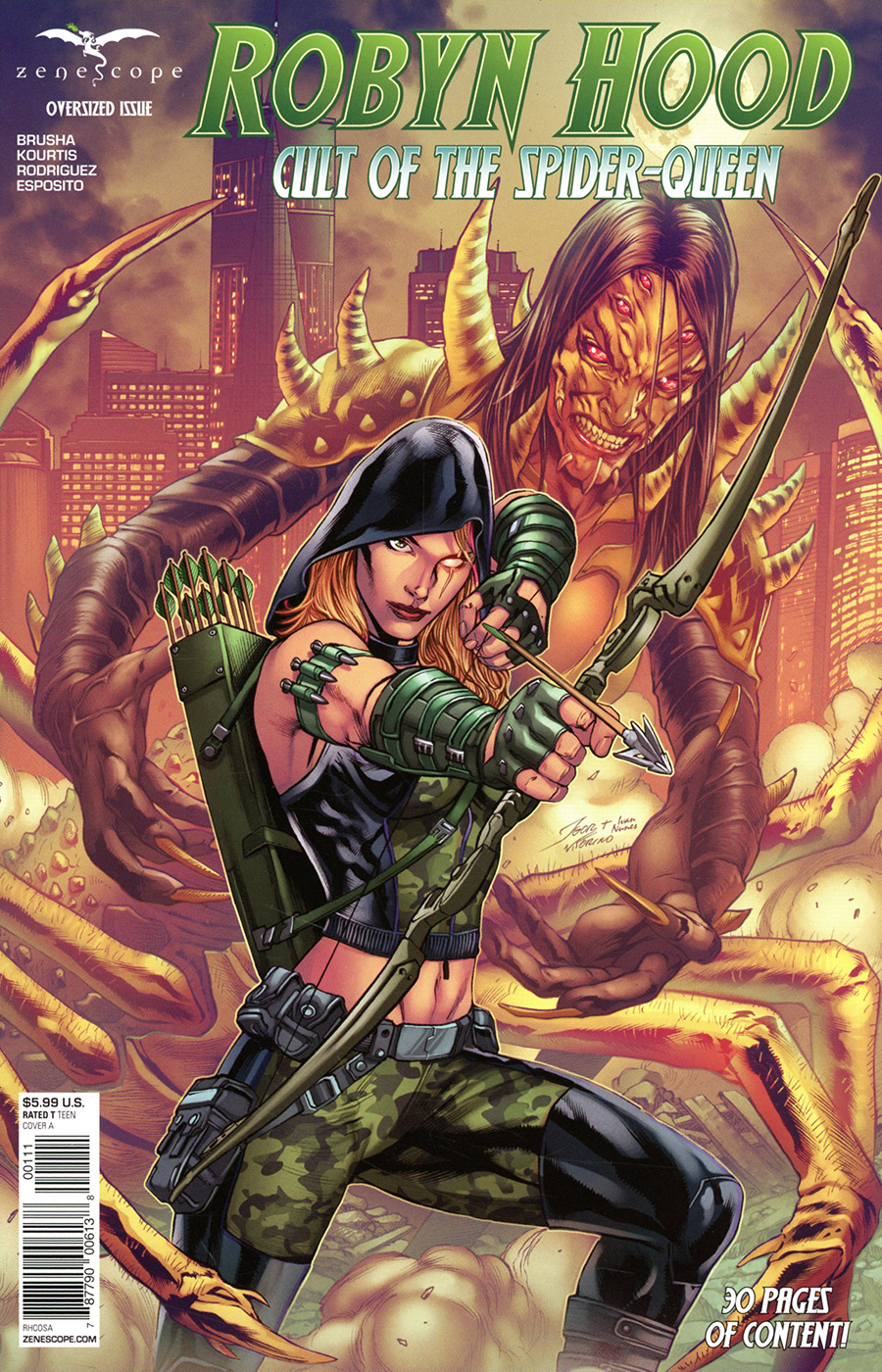Grimm Fairy Tales Presents Robyn Hood Cult Of The Spider #1 (One Shot) Cover A Igor Vitorino