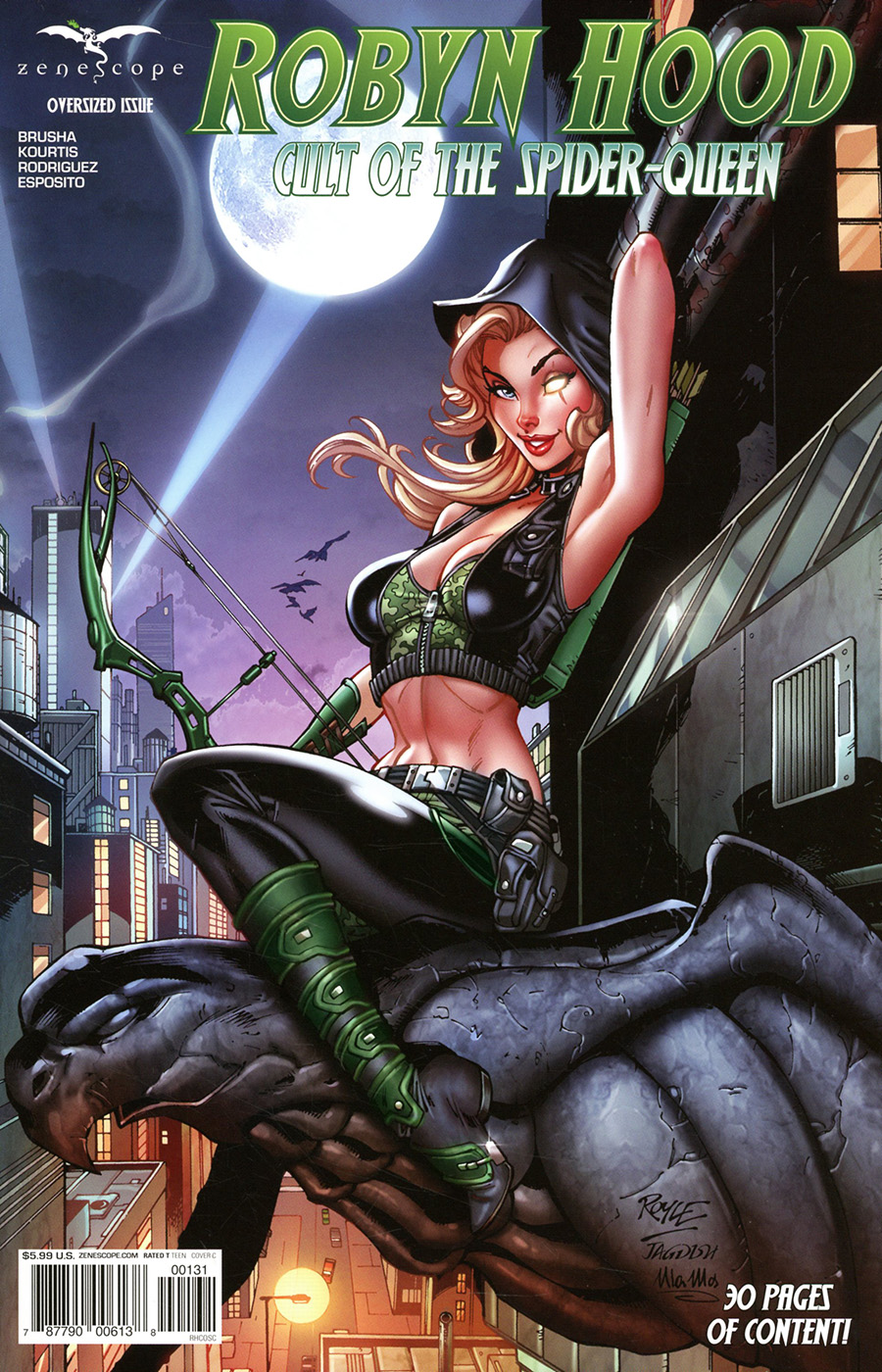 Grimm Fairy Tales Presents Robyn Hood Cult Of The Spider #1 (One Shot) Cover C John Royle